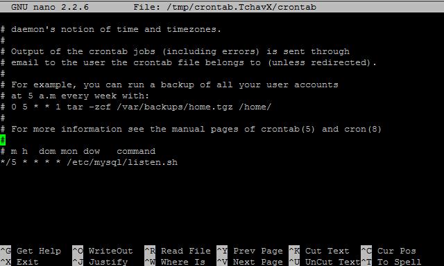 腾讯云Ubuntu下定时监测MySQL进程终止后自动重启的方法