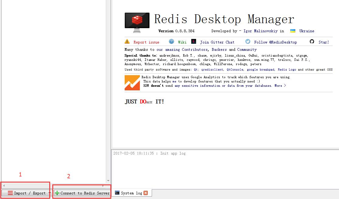本地图形化工具 RedisDesktopManager 登录腾讯云 Redis