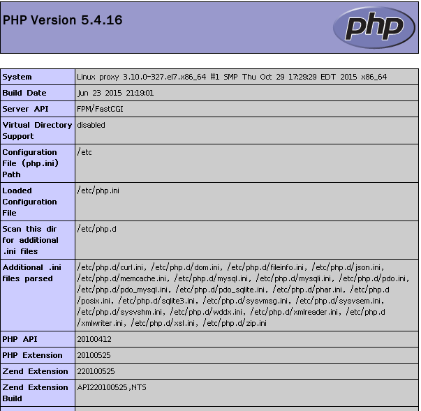 LNMP平台的搭建