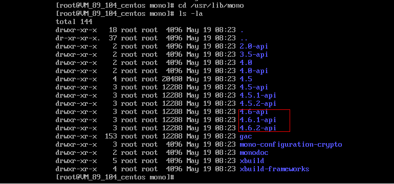 CentOS 7.2下安装Mono 5.0