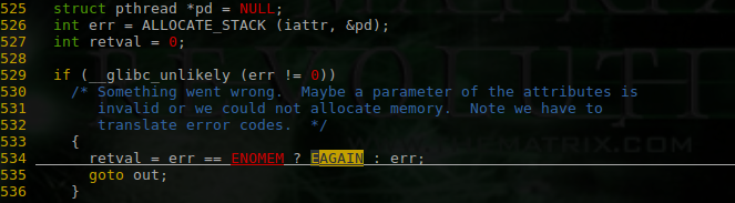 linux、pthread、qemu 的一次 pthread create 失败的分析