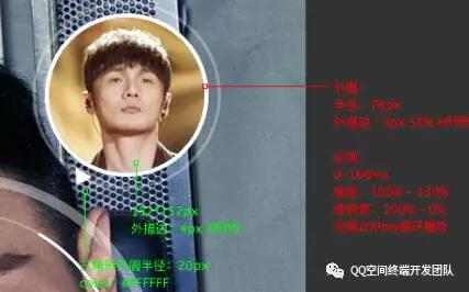 手 Q 人脸识别动画实现详解