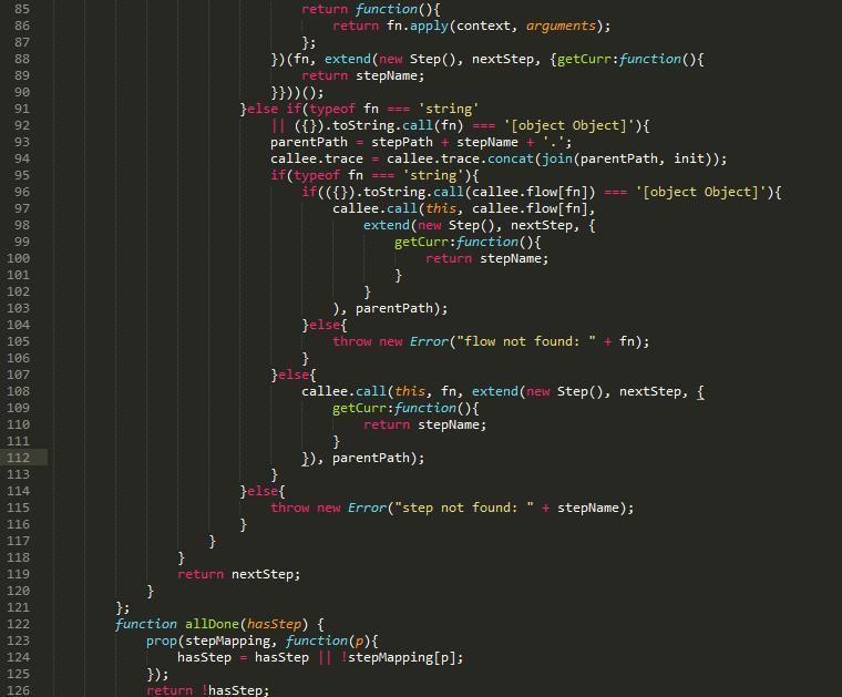 一个只有99行代码的JS流程框架(二)