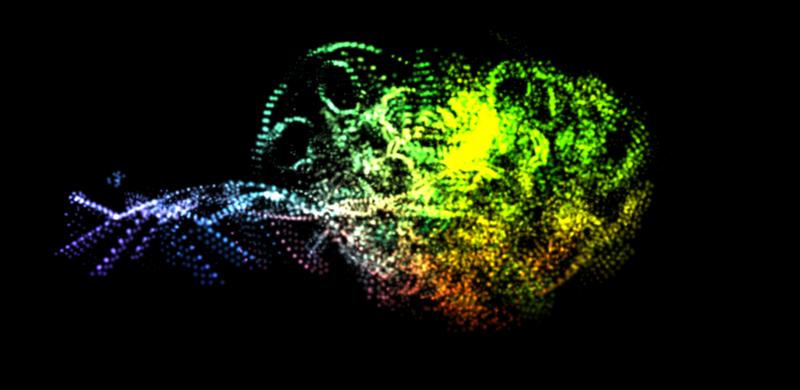 three.js 粒子效果(分别基于 CPU & GPU 实现)